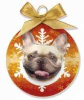Plastic huisdier kerstballen hond 10075017