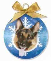 Plastic huisdier kerstballen hond 10075020