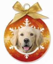 Plastic huisdier kerstballen hond 10075024